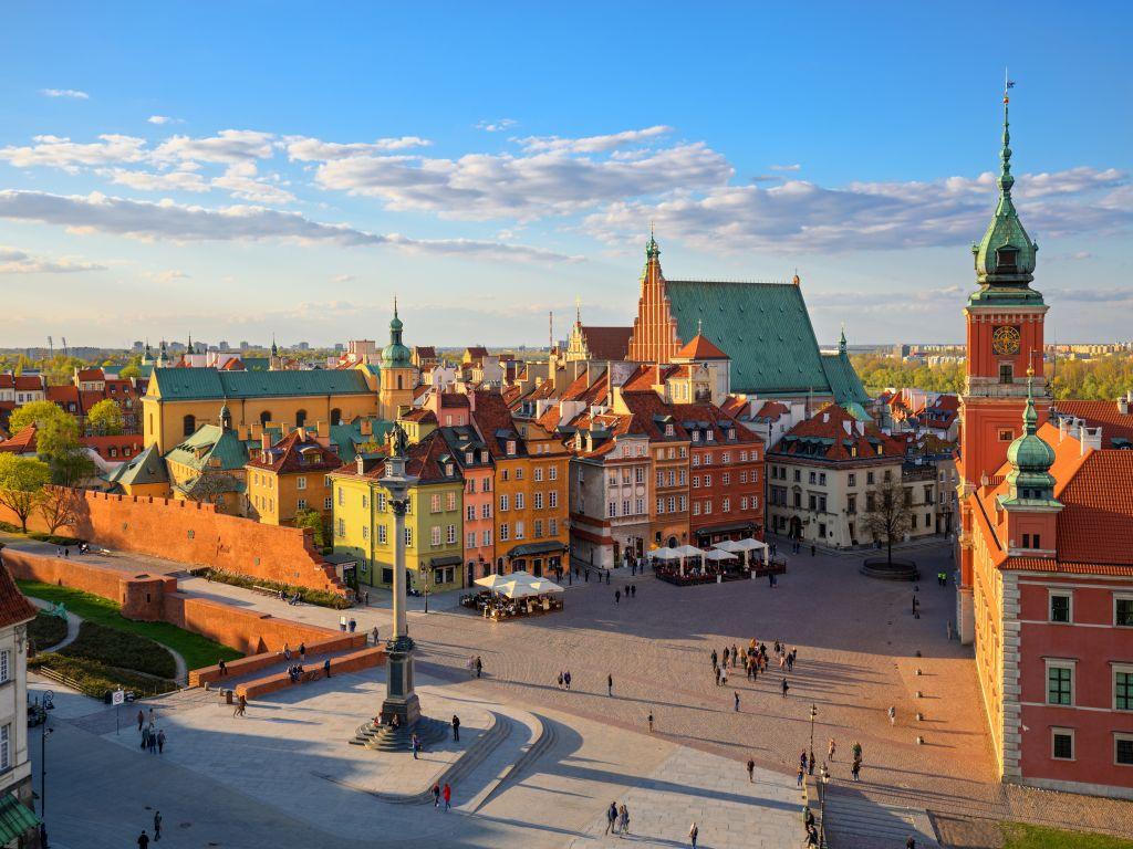 נוף של ורשה