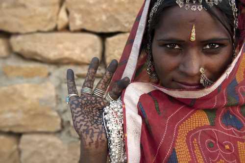 אישה הודית
