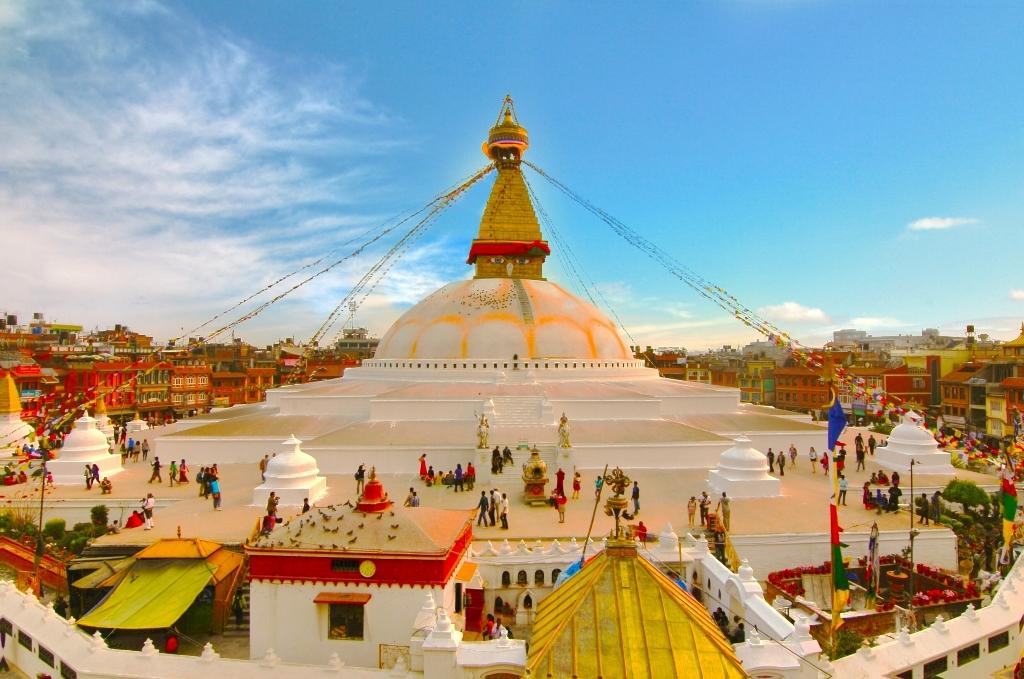 """ת""""א – קטמנדו בירת נפאל  (דרך יעד ביניים)"""