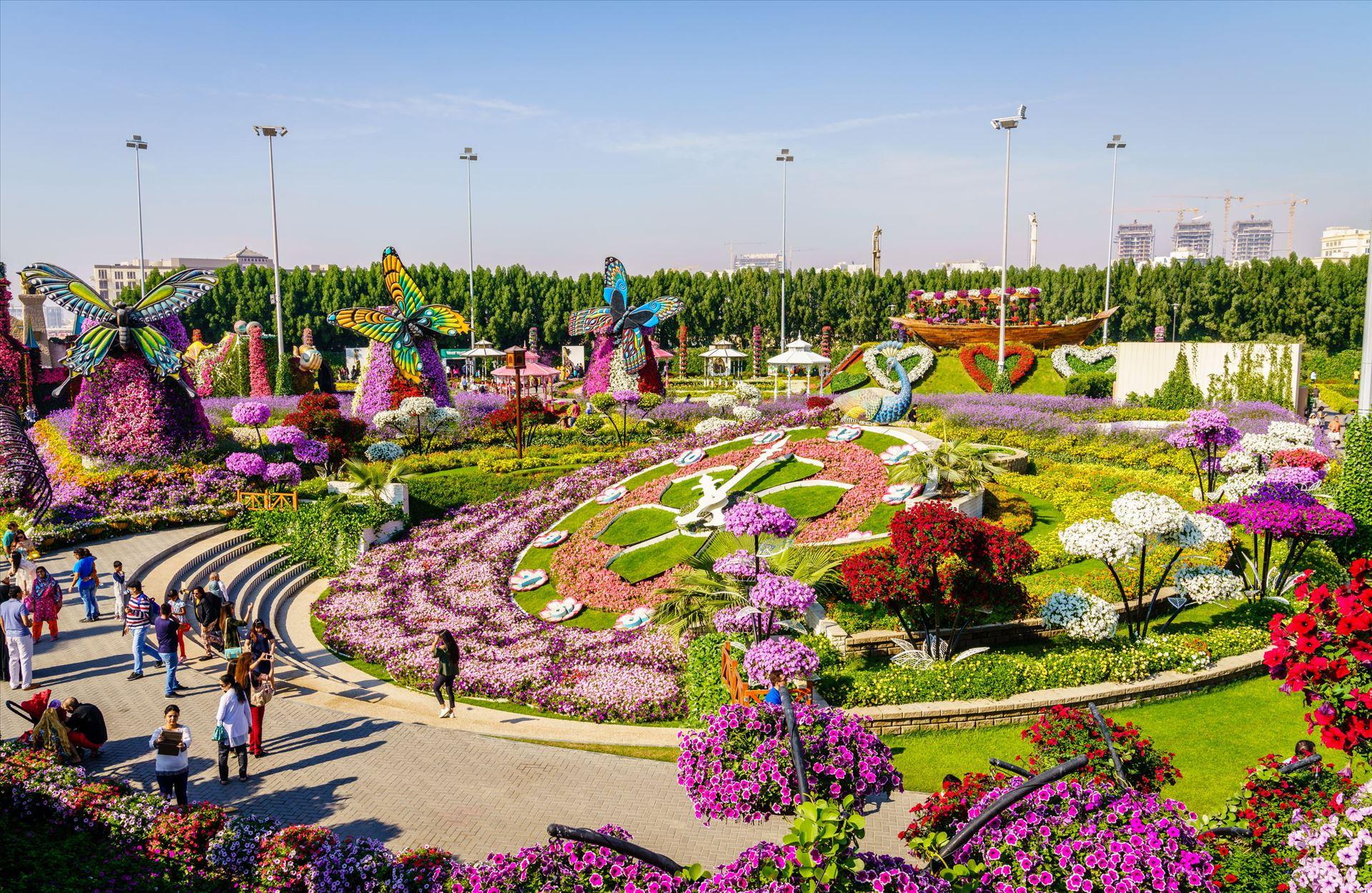גן הפלאים וקניון האמירויות
